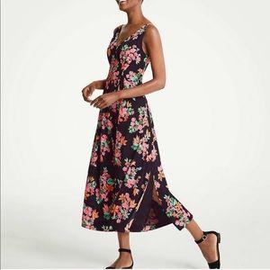 Ann Taylor capri garden maxi dress